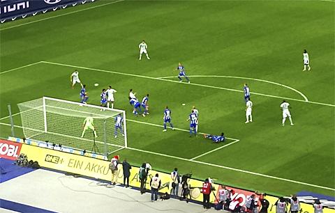 Corner for Bayern